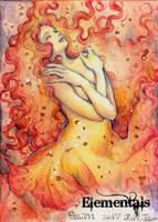 Elementals Sketch Card - Juri H. Chinchilla 3 by Pernastudios