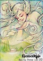 Elementals Sketch Card - Juri H. Chinchilla 2 by Pernastudios