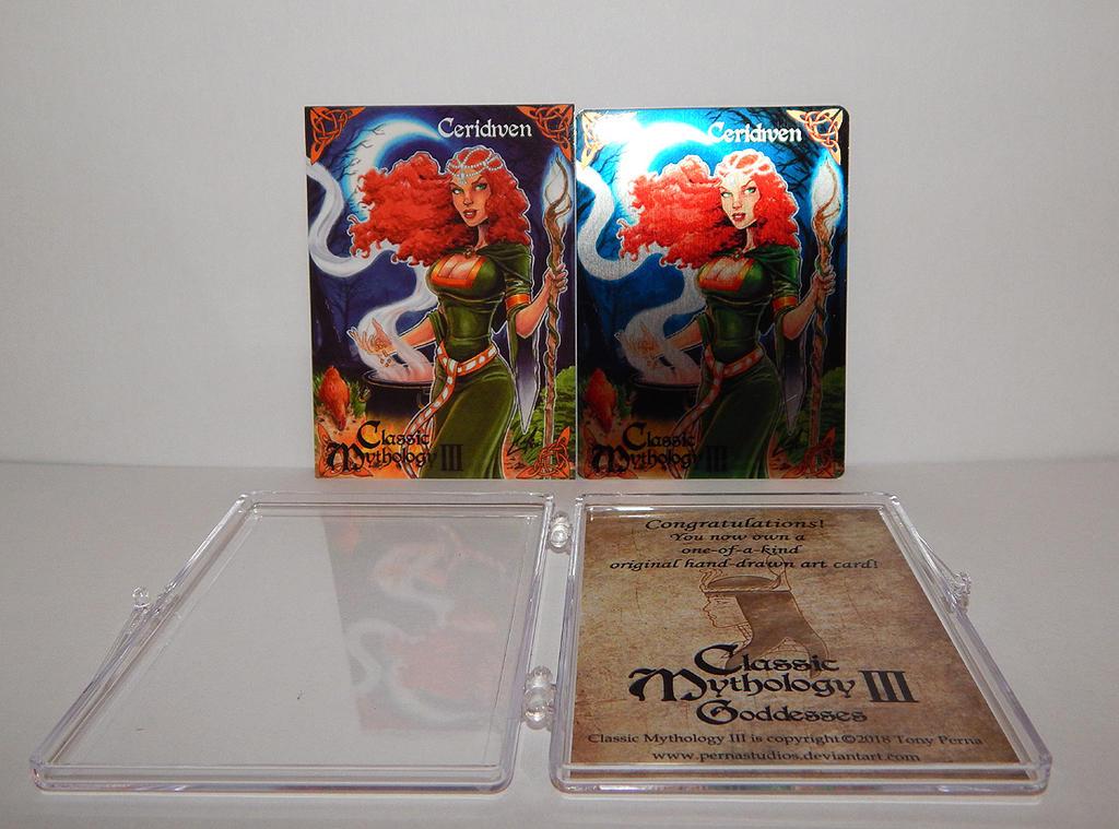 Classic Mythology III - P3 Promo + Metal Variant by Pernastudios