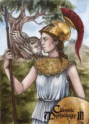 Athena - Athina Poda Konstantinidou by Pernastudios