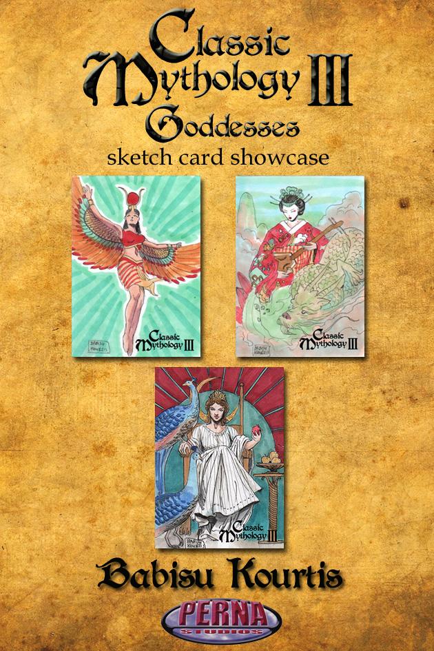 Babisu Kourtis Showcase - Classic Mythology III by Pernastudios