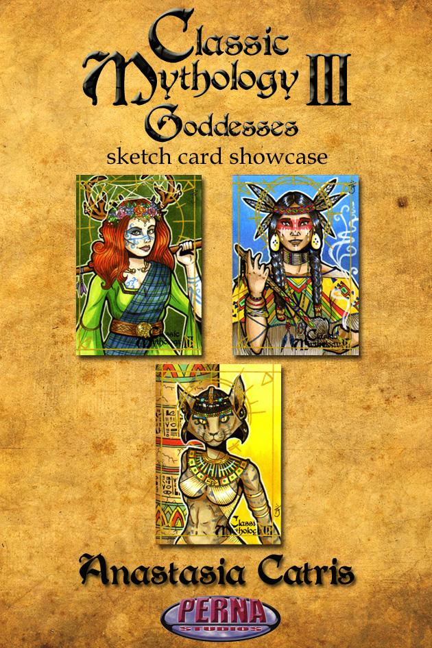 Anastasia Catris Showcase - Classic Mythology III by Pernastudios