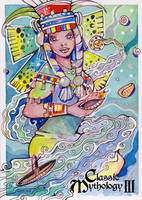Chalchiuhtlicue - Helga Wojik by Pernastudios