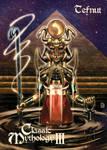 Tefnut Base Card Art - Peejay Catacutan by Pernastudios