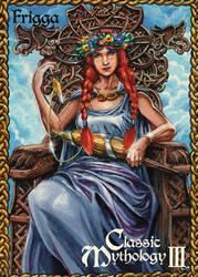 Frigga Base Card Art - Chris Meeks by Pernastudios