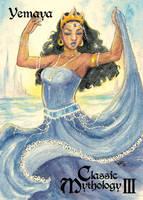 Yemaya Base Card Art - Sha-Nee Williams by Pernastudios