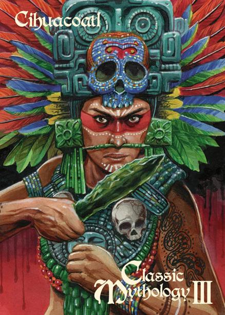 Cihuacoatl Chase Card Art  - Chris Meeks by Pernastudios