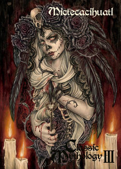 Mictecacihuatl Base Card Art - Enys Guerrero