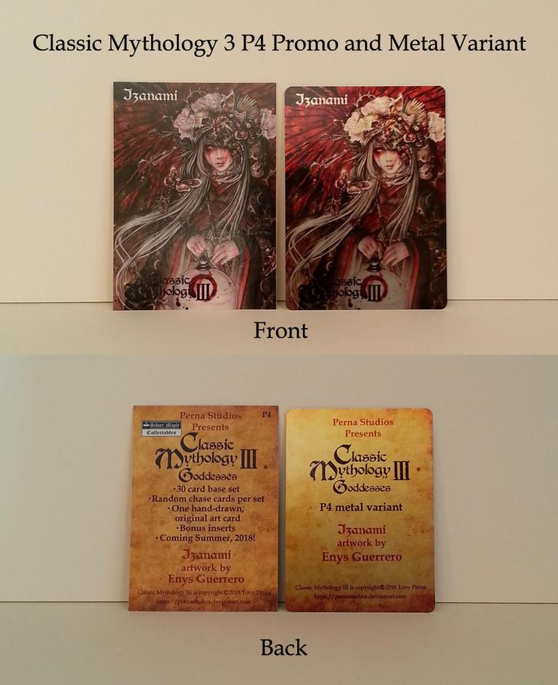 Classic Mythology III P4 Metal Variants - FOR SALE by Pernastudios