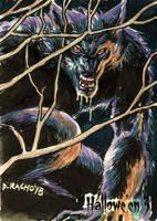 Hallowe'en 3 Sketch Card - Dominic Racho 1 by Pernastudios