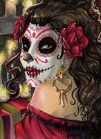 Hallowe'en 3 Sketch Card - Stacey Kardash 2 by Pernastudios