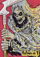 Hallowe'en 3 Sketch Card - Novien Basio 1 by Pernastudios