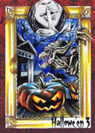 Hallowe'en 3 Sketch Card - Achilleas Kokkinakis 3