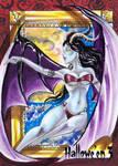 Hallowe'en 3 Sketch Card - Achilleas Kokkinakis 1