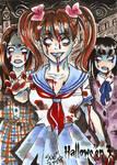 Hallowe'en 3 Sketch Card - Sanna Umemoto 3