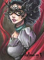 Hallowe'en 3 Sketch Card - Collette Turner 2 by Pernastudios