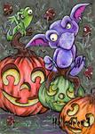 Hallowe'en 3 Sketch Card - Tabitha Jensen 1