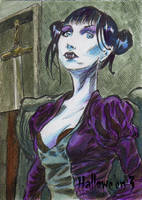 Hallowe'en 3 Sketch Card - Chris Chamberlain 3 by Pernastudios
