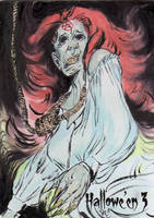 Hallowe'en 3 Sketch Card - Patrick Larcada 3 by Pernastudios