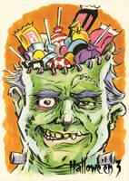 Hallowe'en 3 Sketch Card - Jason Crosby 2 by Pernastudios