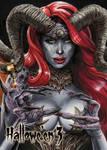 Demon - Base Card Art by Chris Meeks