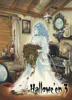 Ghost - Base Card Art by Amy Clark by Pernastudios