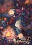 Samhain - Base Card Art by Juri H. Chinchilla