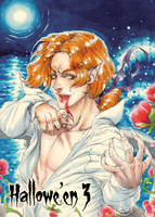 Vampire - Base Card Art by Walter Rice Jr. by Pernastudios