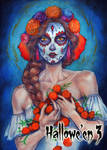 Day of the Dead Metal Chase Art by Juri Chinchilla by Pernastudios