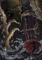 The Kraken - Yuriko Shirou by Pernastudios