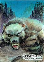 Beast of Bray Road - Fabian Quintero by Pernastudios