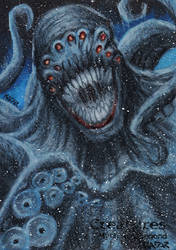 Kraken - Frank A. Kadar by Pernastudios