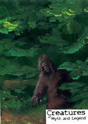 Bigfoot - Ingrid Hardy by Pernastudios