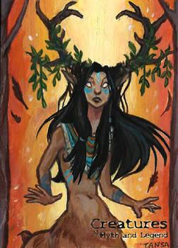 Deer Woman - Natasa 'Tansa' Kourti