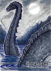 Loch Ness Monster - Eric Muller by Pernastudios