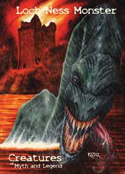 Loch Ness Monster - Frank Kadar by Pernastudios