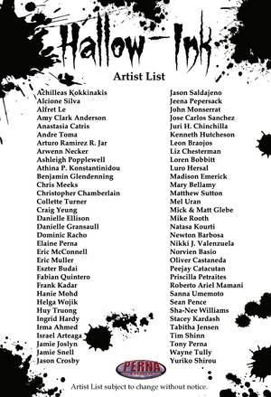 Classic Mythology III: Goddesses Artist List by Pernastudios
