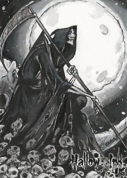 Hallow-Ink Sketch Card - Natasa Kourti 1