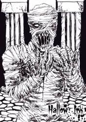 Hallow-Ink Sketch Card - Wayne Tully 3