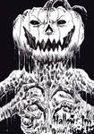 Hallow-Ink Sketch Card - Wayne Tully 1