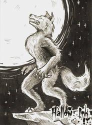 Hallow-Ink Sketch Card - Eszter Budai 3