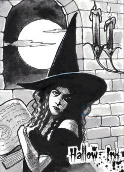 Hallow-Ink Sketch Card - Ingrid Hardy 2