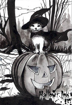 Hallow-Ink Sketch Card - Ingrid Hardy 1