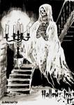 Hallow-Ink Sketch Card - Dominic Racho 2