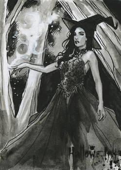 Hallow-Ink Sketch Card - Craig Yueng 1