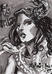 Hallow-Ink Sketch Card - Christopher Chamberlain 3