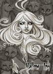 Ghost - Base Card Art by Jeena Pepersack by Pernastudios