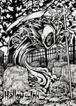Grim Reaper - Base Card Art by Tony Perna