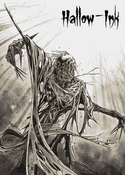 Scarecrow - Base Card Art by Craig Yeung
