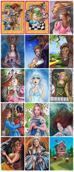 Classic Fairy Tales 2 - METAL Sketch Cards